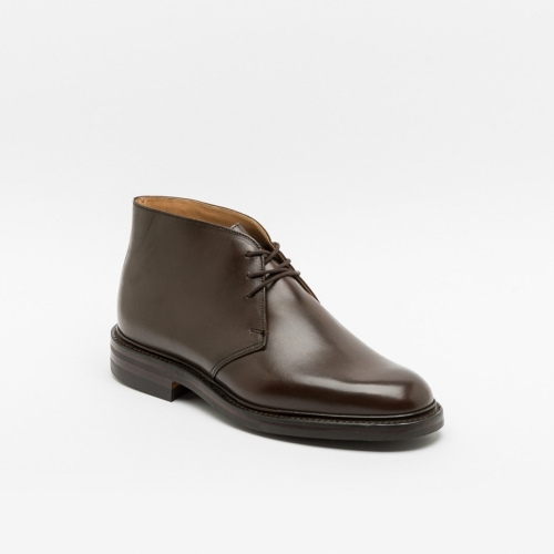 Polacco Crockett & Jones Chiltern 2 in pelle marrone wax