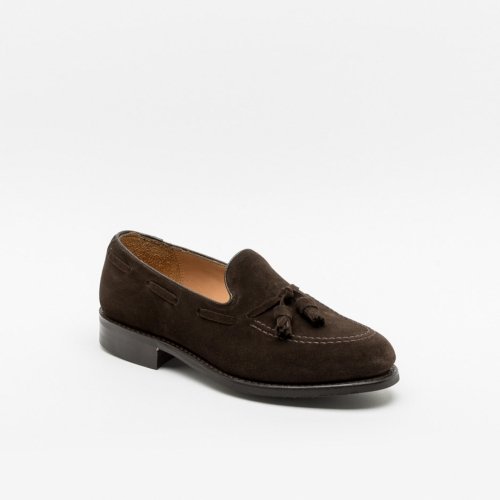 Mocassino Cheaney Joseph & Sons Boston II in camoscio marrone