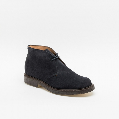 Cheaney Jesmond II blue suede ankle boot