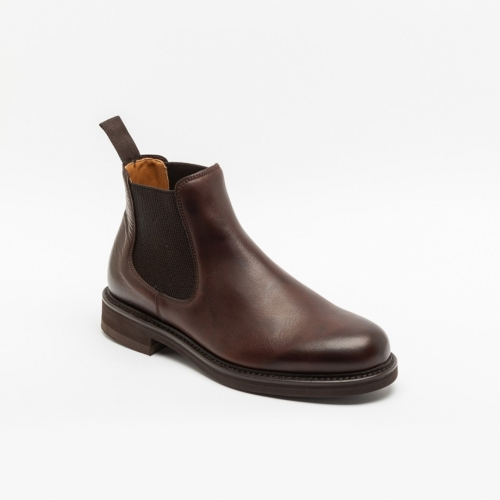 Polacco Berwick 272 in pelle polo brown regency