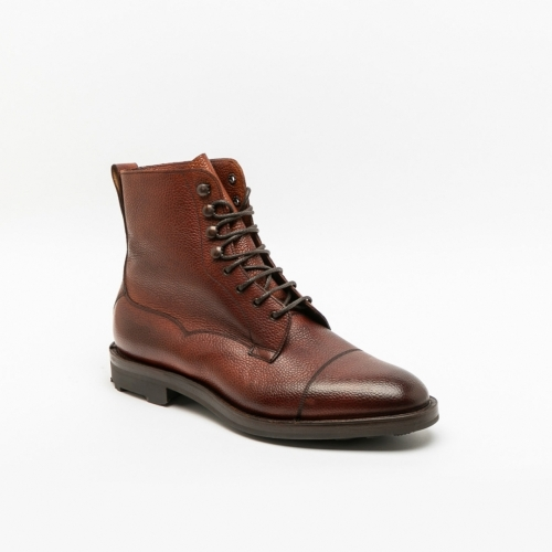 Stivaletto Edward Green Galway in pelle rosewood