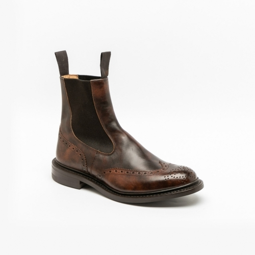 Tricker's Henry brown museum calf boots