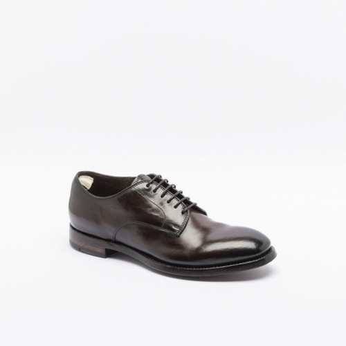 Officine Creative Emory 001 ebony calf derby shoes