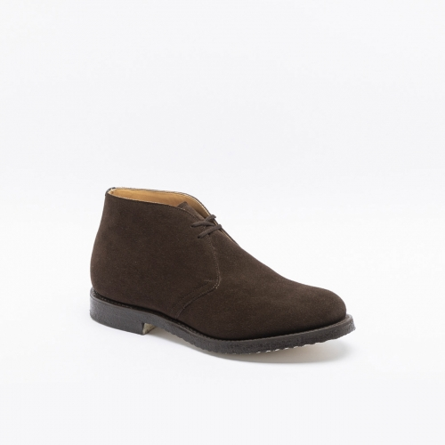 Church's Ryder 81 brown suede castoro suede ankle boot