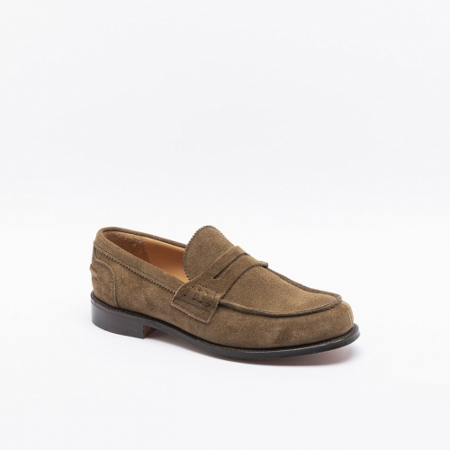 Mocassino Cheaney Joseph & Sons Dorking II in in camoscio roccia