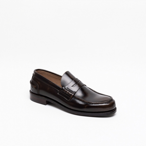 Mocassino Cheaney Joseph & Sons Dover EF in pelle pickled walnut