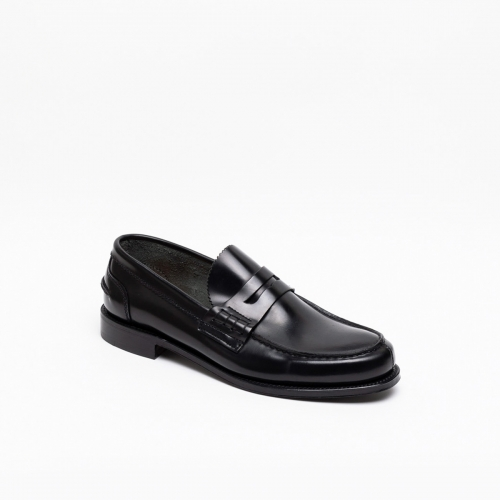 Mocassino Cheaney Joseph & Sons Dover EF in pelle nera