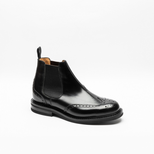 Church's Ketsby LW black polished boots