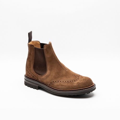 Church's McEntyre cigar suede chelsea boots
