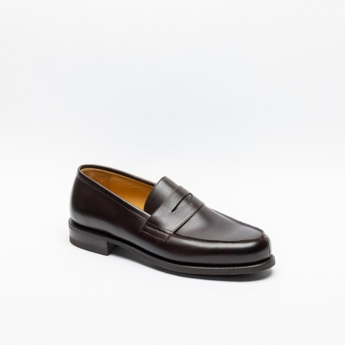 Paraboot Adonis brown penny loafer