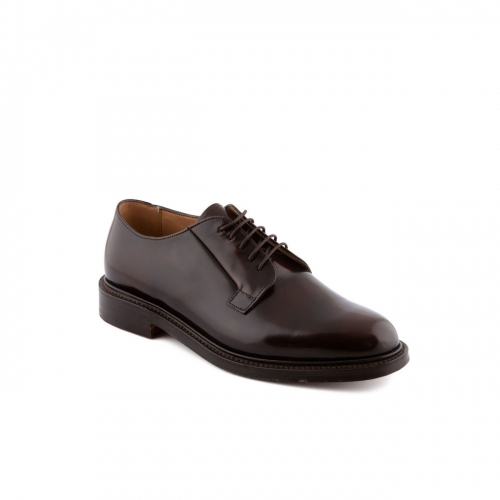 Shoe lace-up Cheaney Deal in maronite polished binder calf