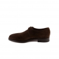 Shoe Edward Green Welland in mocca suede with buckle
