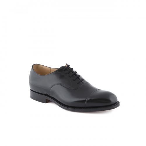 Church's Consul lace-up shoe in black polished binder