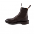 Ankle boot Tricker's Silvia in espresso burnished leather