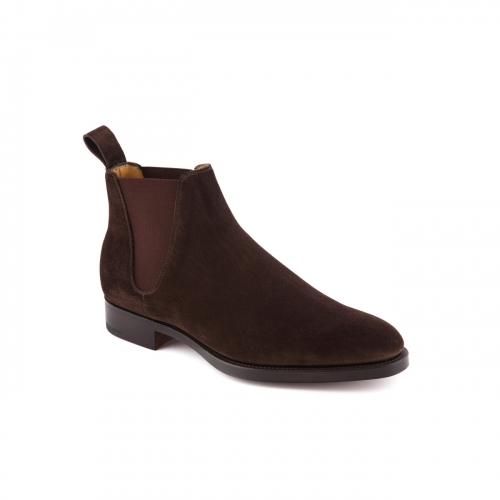 Boot Edward Green Camden in mocca suede
