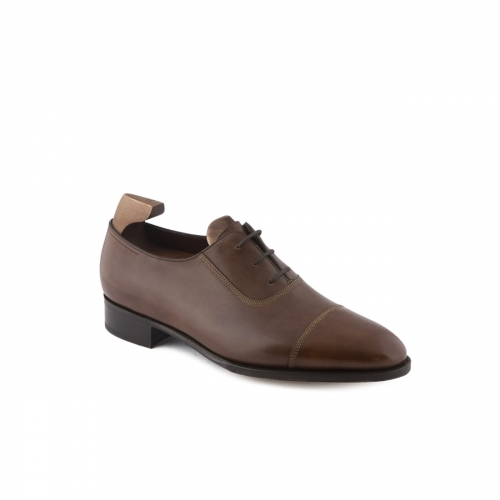 Scarpa stringata John Lobb 2014 in pelle marrone