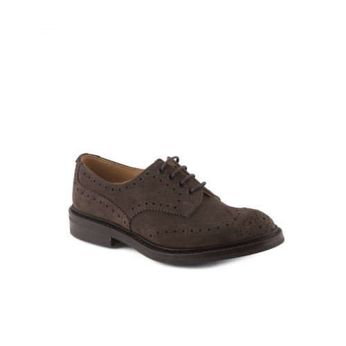 Lace-up shoe Tricker's Bourton coffee suede