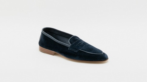 Edward Green Polperro suede loafer
